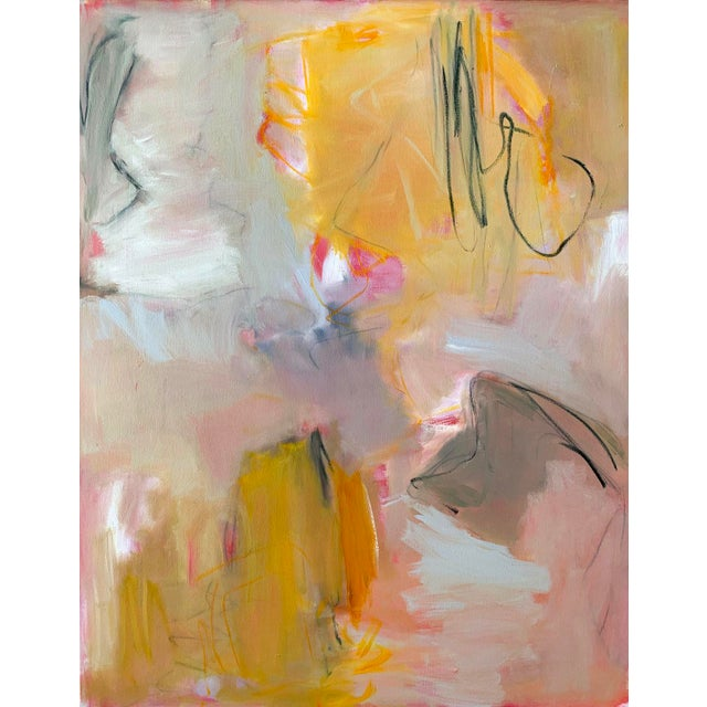 """""""Sirocco"""" by Trixie Pitts XL Abstract Expressionist Oil Painting For Sale - Image 10 of 13"""