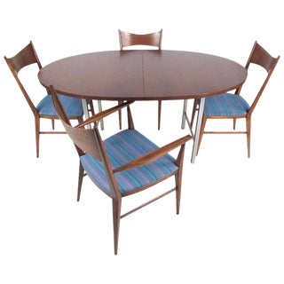 Mid-Century Paul McCobb Calvin Group Dining Set For Sale