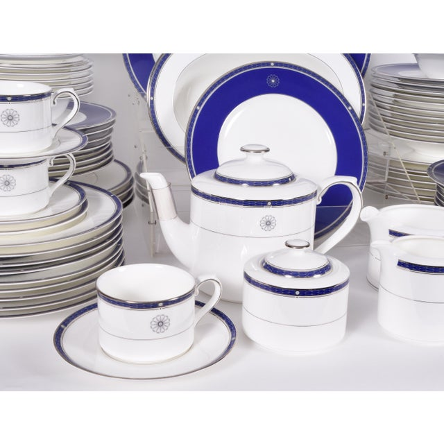 American Wedgwood English Porcelain Dinnerware Service for Ten People - 83 Piece Set For Sale - Image 3 of 13