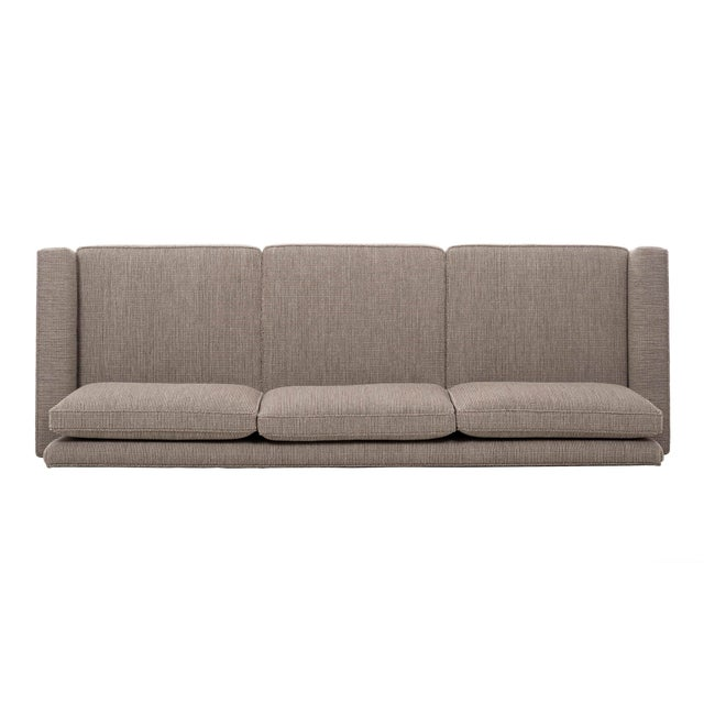 Metal 1950s Vintage Florence Knoll Sofa For Sale - Image 7 of 12