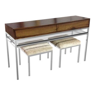 911 Straight Street Console Table 1 For Sale