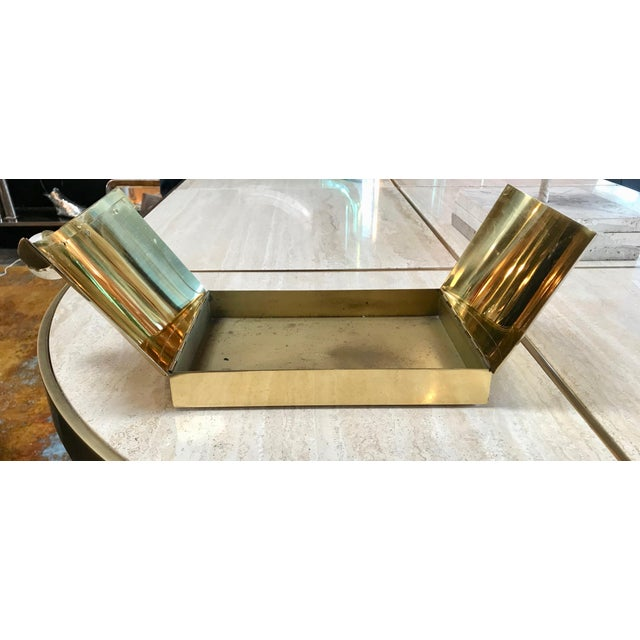Tommaso Barbi Vintage Brass Box, Italy, 1960s For Sale In Los Angeles - Image 6 of 11