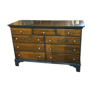 Vintage Hitchcock Blue Bedroom Dresser For Sale