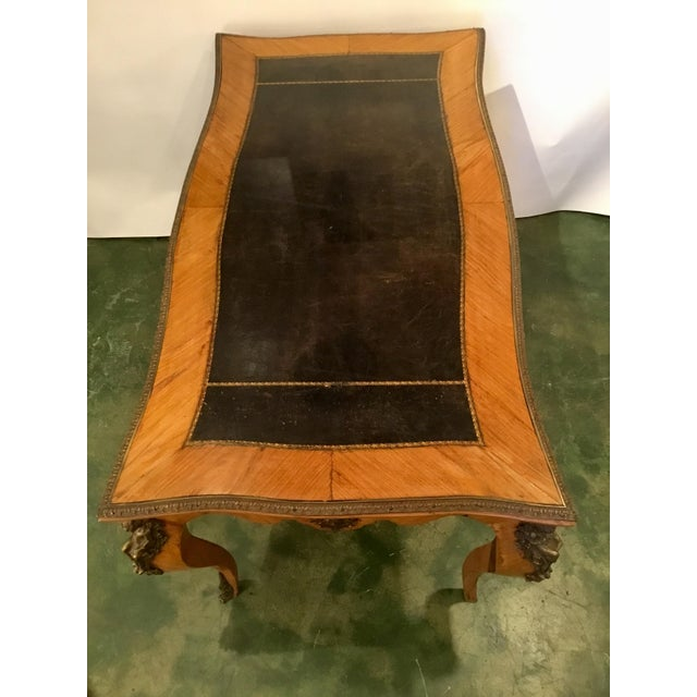 Metal French Writing Desk For Sale - Image 7 of 13