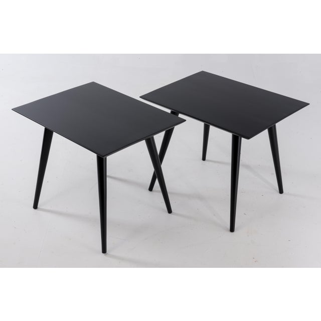 1960s 1960s Mid-Century Modern Paul McCobb for Winchendon Plannar Group Side Tables - a Pair For Sale - Image 5 of 13