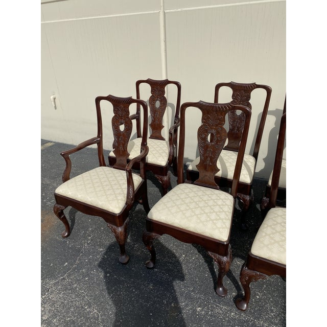 Henredon Aston Court by Henredon Chairs - Set of 8 For Sale - Image 4 of 9