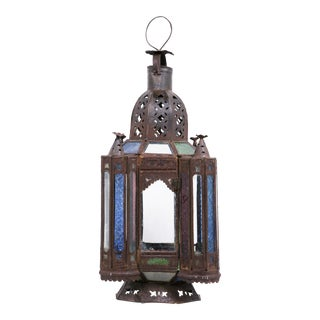 Mid Century Ottoman Lantern For Sale