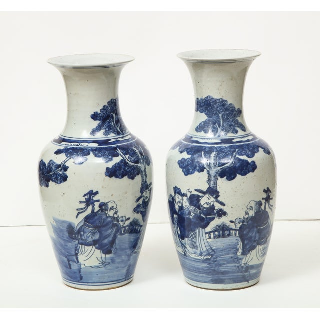 Chinese Export Vases - A Pair For Sale - Image 10 of 13
