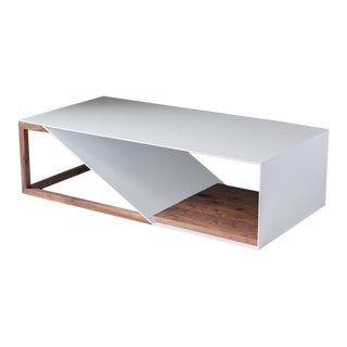 Cortado Coffee Table - Aluminum For Sale