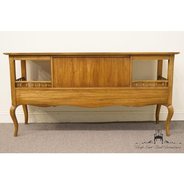 """Thomasville Furniture Chateau Collection French Country 64"""" Server / Buffet For Sale - Image 10 of 13"""