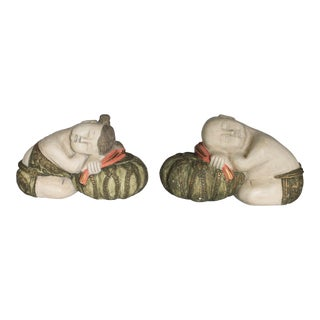Decorative Sleeping Asian Figurines For Sale