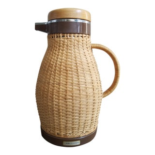 Hamptons Wicker Wrapped Carafe