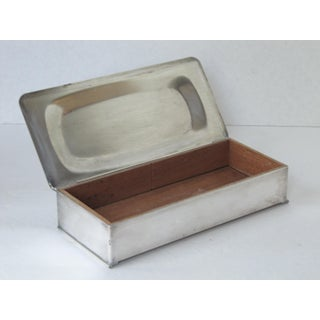 Silverplate Box Lined With Wood Preview