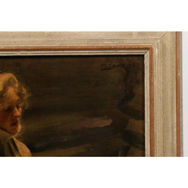 "Impressionism Anders Zorn ""Kal-Margit"" Giclee For Sale - Image 3 of 4"