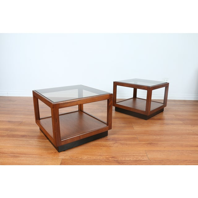 Brown & Saltman Side Tables- A Pair - Image 6 of 10