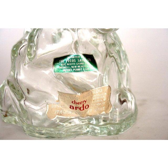 Mid-Century Modern Archimede Seguso Alabastro Murano Duck Decanter Bottle For Sale - Image 3 of 3
