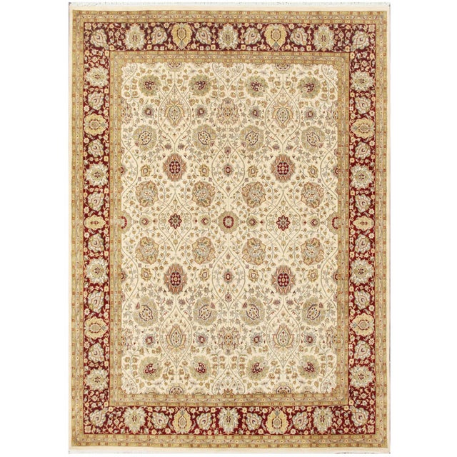 """Pasargad Tabriz Collection Rug - 7'11"""" X 10'10"""" - Image 1 of 2"""