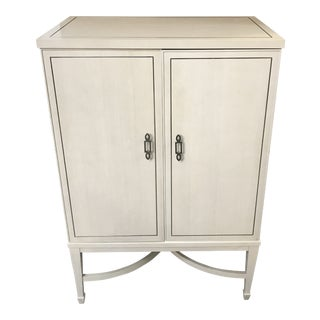 Transitional Criteria Bar Cabinet For Sale