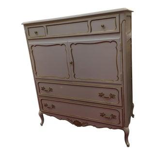 Shabby Chic French HighBoy Dresser