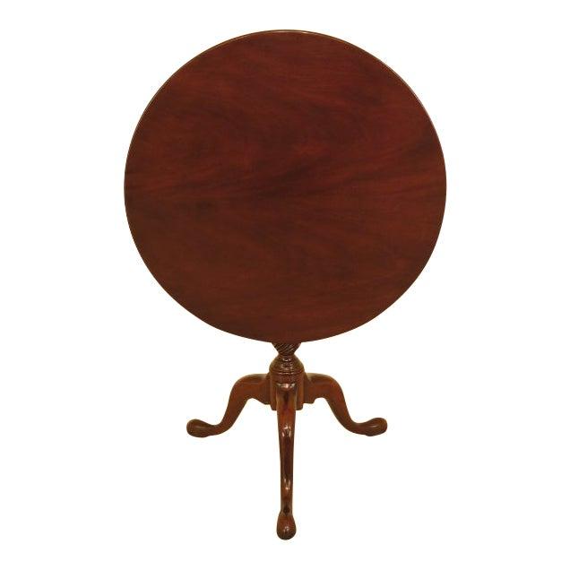 Kittinger Historic Newport Hn-6 Mahogany Tilt Top Table For Sale