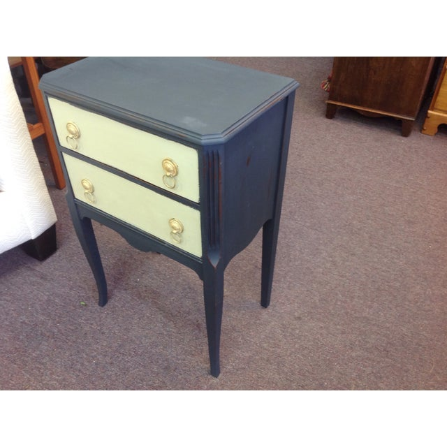 Two Toned Side Table - Image 3 of 8