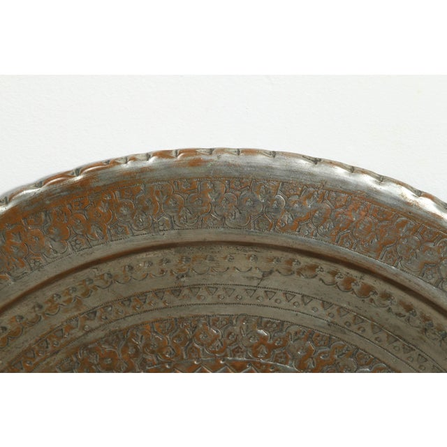 Silver Persian Hanging Platter For Sale - Image 8 of 10