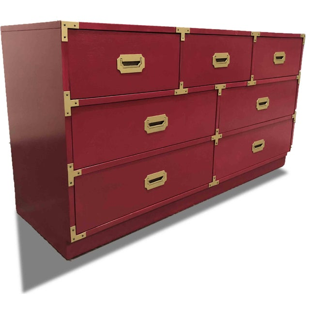 1960s 1960s Campaign Chest by Bernhardt For Sale - Image 5 of 8