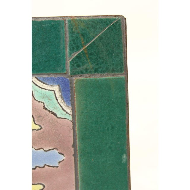 1930s Art Deco Tile Top Occasional Table For Sale In Los Angeles - Image 6 of 11