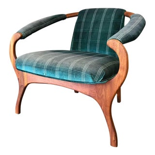 Modern Sculptural Lounge Chair Attributed to Adrian Pearsall For Sale
