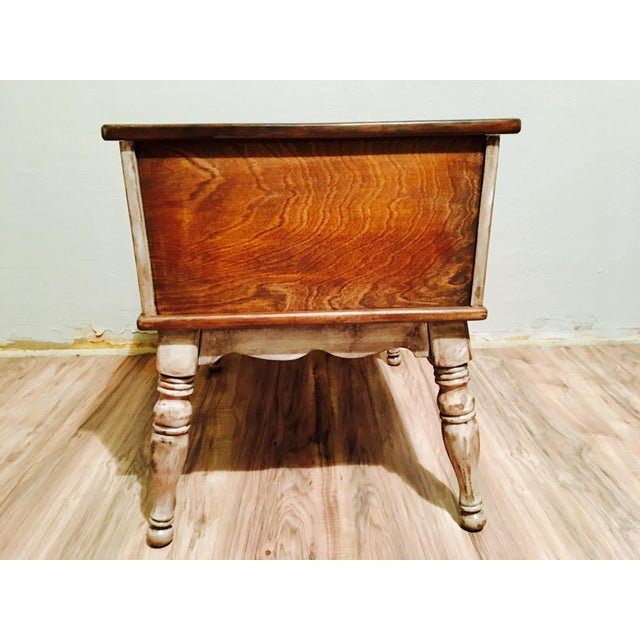 Farmhouse Rustic Side Table - Image 6 of 11
