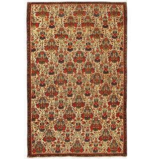 Exceptional Mid-19th Century Persian Fereghen Rug For Sale