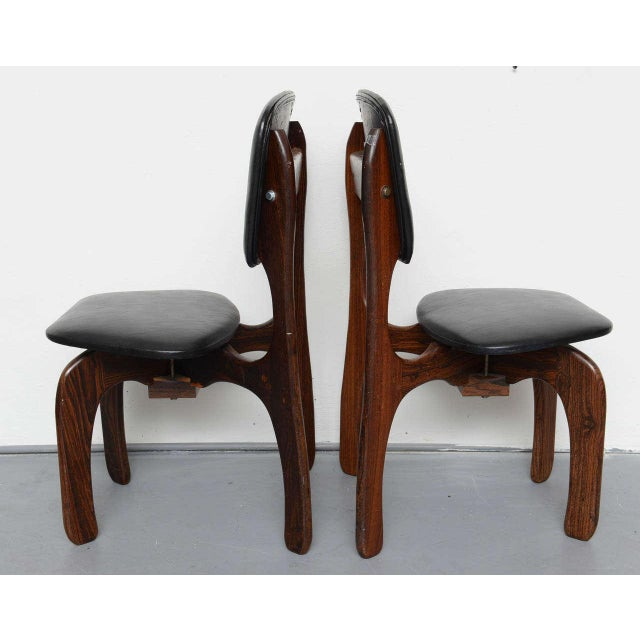 Don Shoemaker 1970s Rosewood Chairs by Don Shoemaker, Mexico For Sale - Image 4 of 9