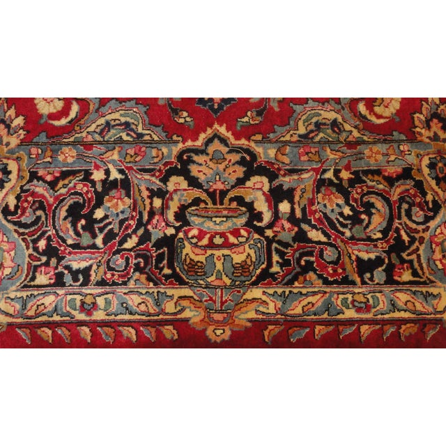 """Islamic Persian Khorassan Rug - 9'10"""" x 12'2"""" For Sale - Image 3 of 5"""