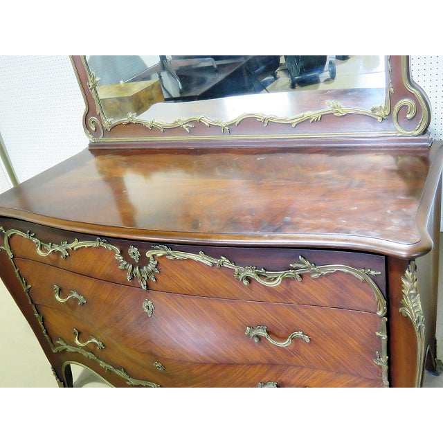 Regency Style Commode With Mirror For Sale In Philadelphia - Image 6 of 10