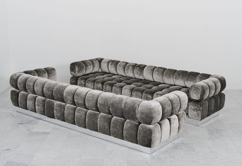 Todd Merrill Custom Originals, The Standard Tufted Sofa, USA , 2016 For  Sale In