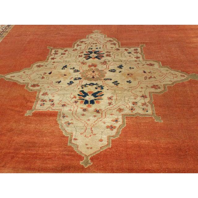 Keivan Woven Arts, E-1207, Late 19th Century Antique Ziegler Sultanabad Rug - 10′2″ × 14′5″ For Sale In Atlanta - Image 6 of 10