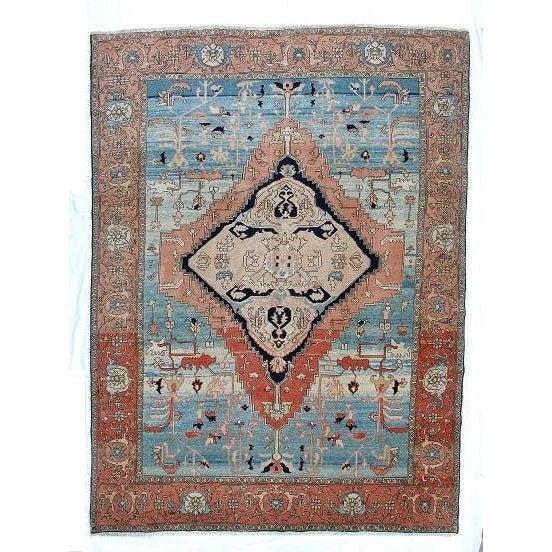 Leon Banilivi Persian Bakhshaish Rug - 9′ × 12′ For Sale In New York - Image 6 of 6
