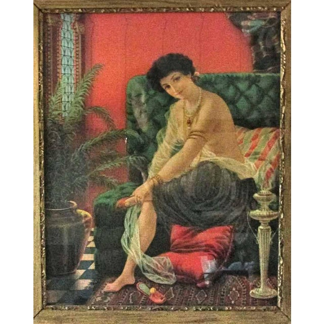 Antique Framed Salome Lithograph - Image 3 of 7