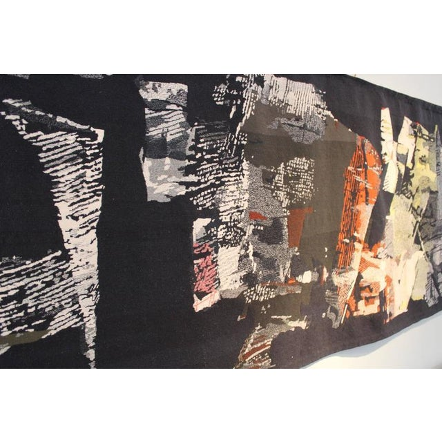 "1950s Large Tapestry by Mathieu Matégot ""Fiction"" For Sale - Image 5 of 10"
