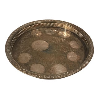 International Silver Company Silver-Plate Serving Tray For Sale