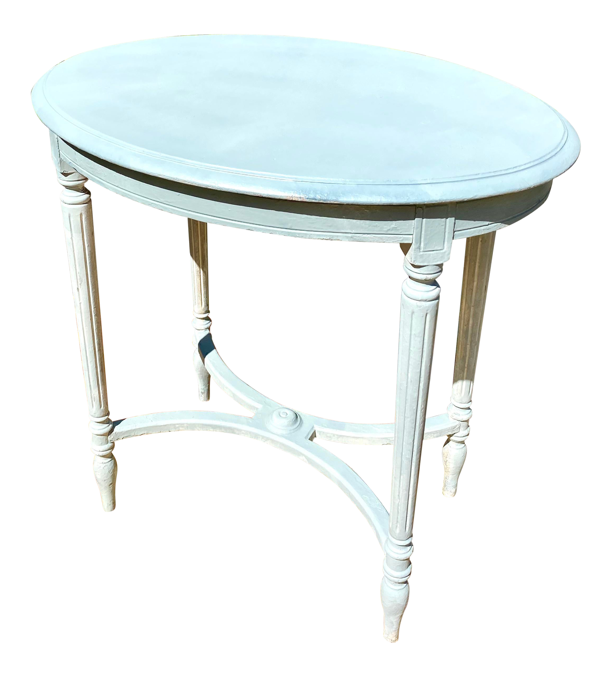 - 1920s Louis XV DIrectoire Style Painted Accent Table Chairish