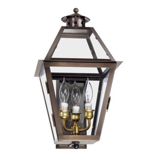 Lantern & Scroll Charleston Collection Wall Mount Lantern For Sale