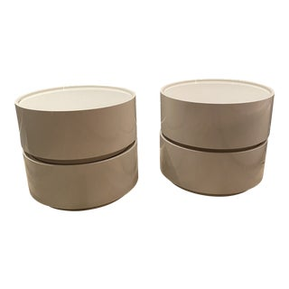Pianca Italian Side Tables - a Pair For Sale