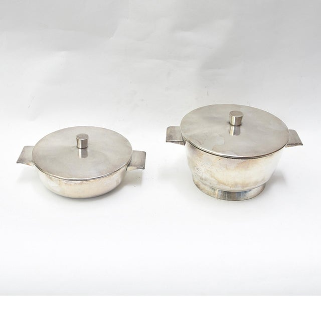 Italian Gio Ponti Bowls - A Pair For Sale - Image 3 of 5