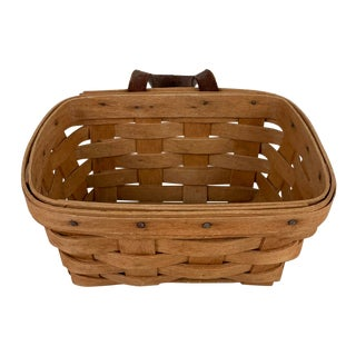 Vintage Longaberger Wall Hanging Basket For Sale