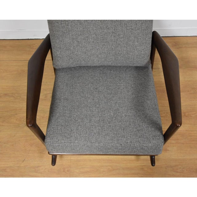 Ib Kofod Larsen for Selig Rocking Chair - Image 6 of 11