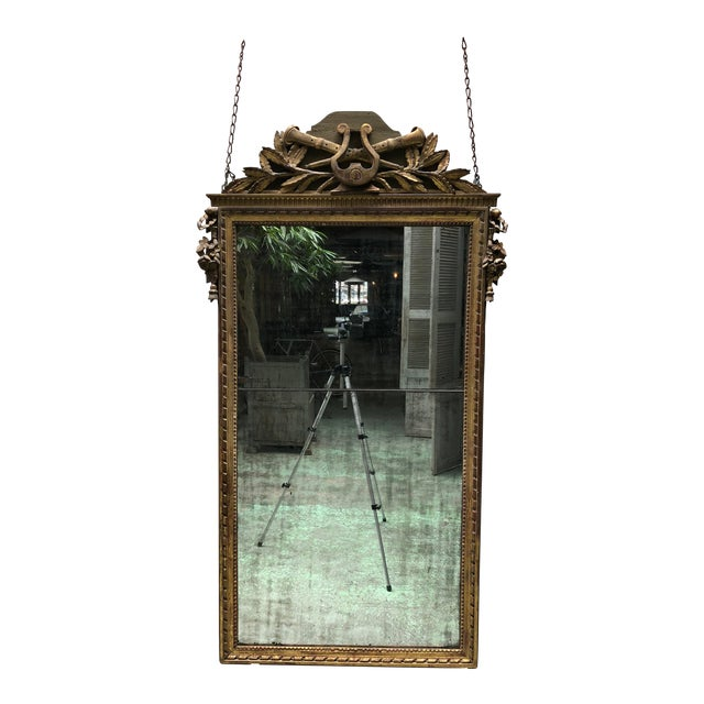 Louis XVI , 18th Century Mirror For Sale