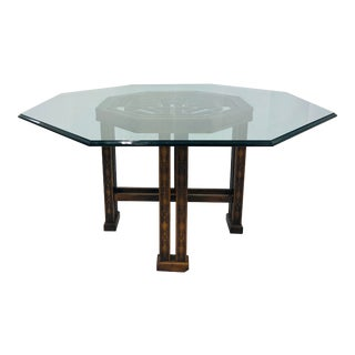 Vintage Chinese Chippendale Table by Drexel Heritage For Sale