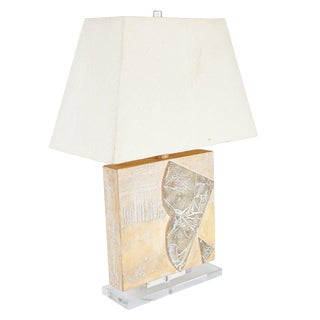 Huge 1980s Modern Abstract Table Lamp For Sale