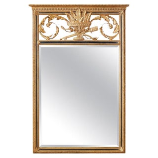 French Louis XVI Style Giltwood Mirror by Friedman Brothers For Sale